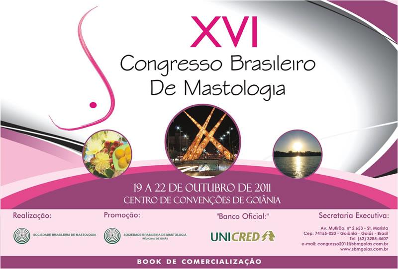 Banner XVI Congresso Nacional de Mastologia
